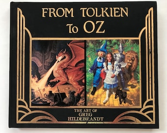 SIGNED First Edition (1985) - From Tolkien To OZ