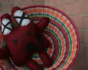 Lyle the Heartthrob Hand-stitched Plush Monster