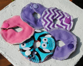 G-tube Soak Pads 5 Pack (Two Sizes)