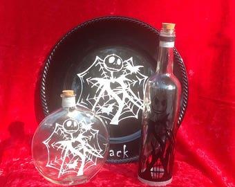 Jack plates and bottles