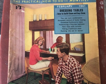 Vintage Homemaker The Practical How-To-Do-It monthly February 1961 magazine Septemeber Issue