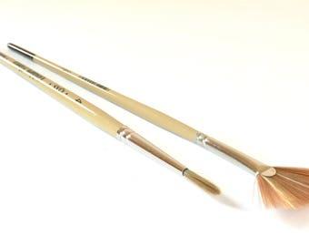 Paint Brushes - Watercolor Brush Set - Artist's Tools - Artist Paint Brushes - Gift for Artists - Artist Supplies - Watercolor Paint Brush