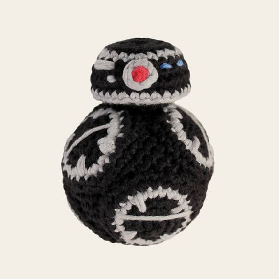 BB-9E - Star Wars. Amigurumi Pattern PDF, DIY, Crafts, Crochet Pattern, Droid, Robot, Children, Nerd Doll, Geek, Kids Gift, Instant download
