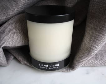 Ylang Ylang Essential Oil Soy Candle