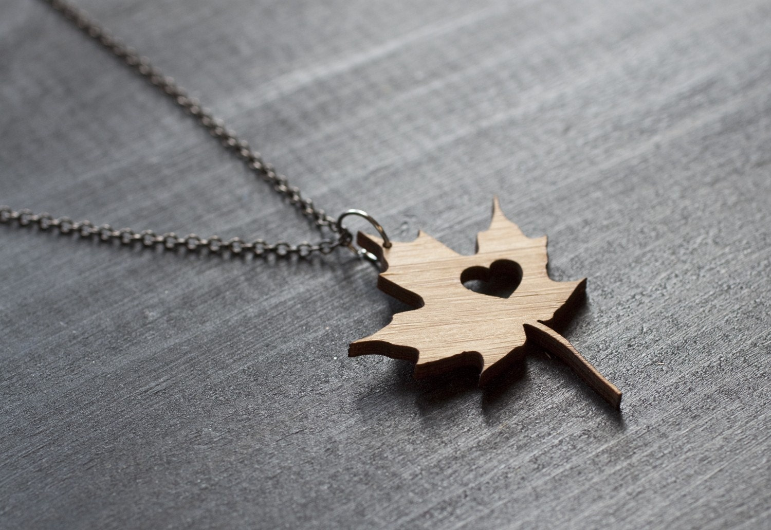 museum leaf online maple history shop necklace iridescent natural