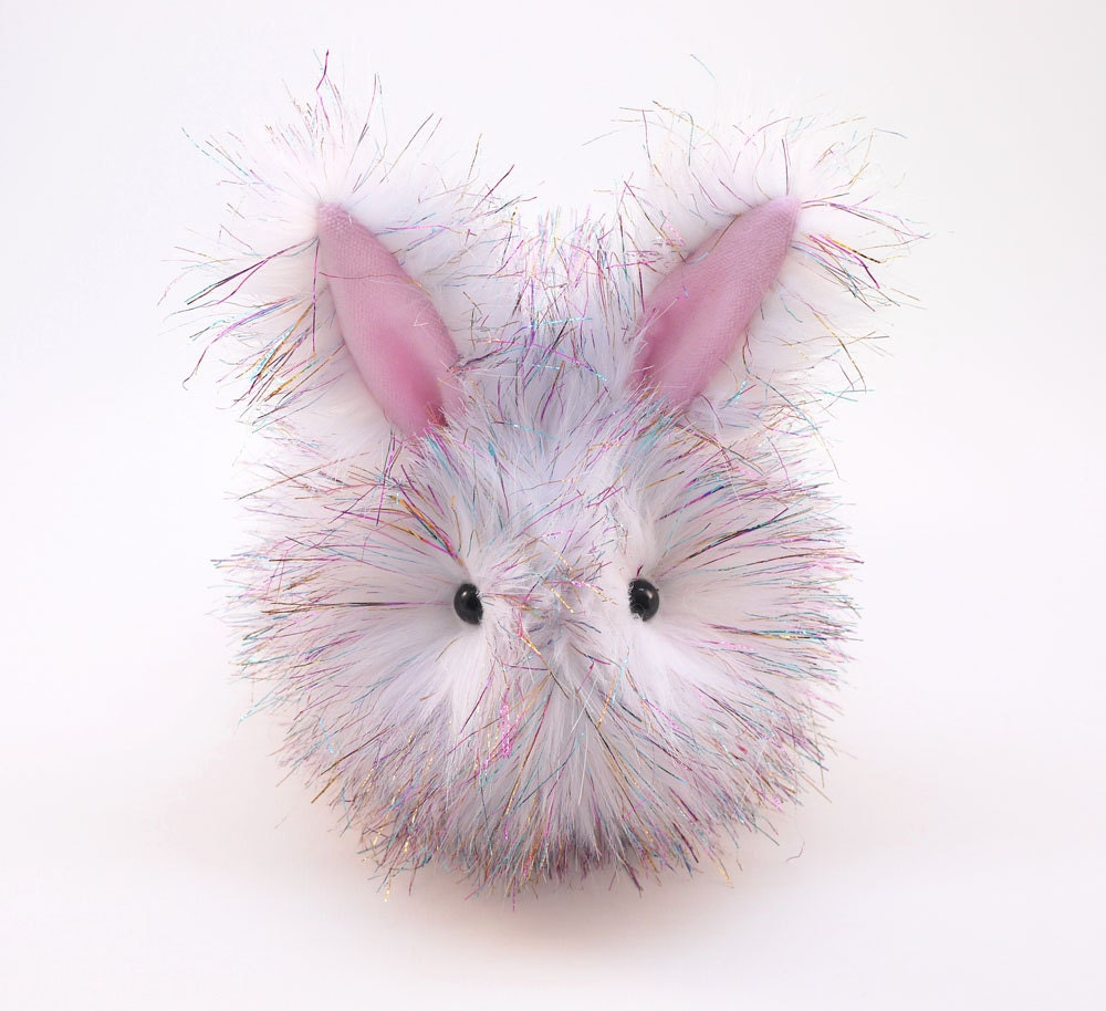 easter gift stuffed animal cute plush toy fluffy bunny kawaii. Black Bedroom Furniture Sets. Home Design Ideas