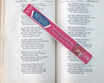 The Little Mermaid Recycled Bookmark