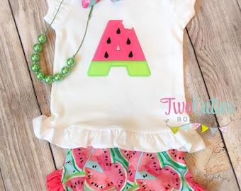 Watermelon Short Set