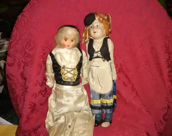 Antique dolls from West Virginia. AS IS.