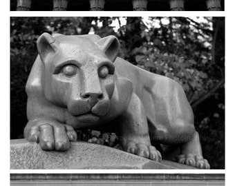 "PSU Triptych - (3)- 5x7"" Fine Art Prints"