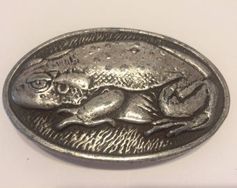 1975 Bullfrog Belt Buckle