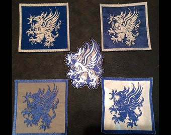Dragon Age - Grey Warden Griffon Embroidered Patch