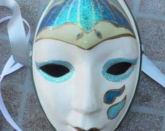 Wall Decor Mask Ceramic Mask