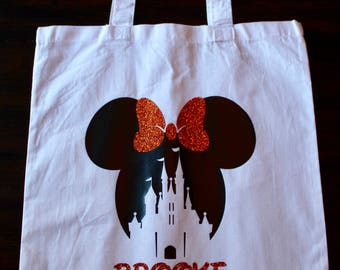 Disney Castle Halloween Bag