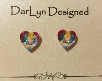Cinderella Princess earrings