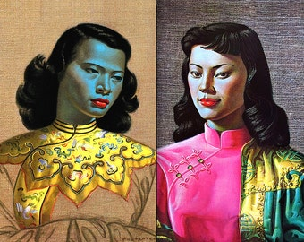 Vladimir Tretchikoff Classic MID CENTURY Portraits • Limited Edition • High Quality, Non-Fade Replica Prints On Heavy Photo Paper. AMAZING !