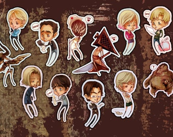 Shy: Silent Hill (Stickers)