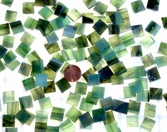 Rainforest Mosaic Tile Squares