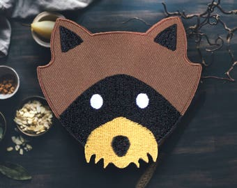 """Trash Panda Raccoon Patch 