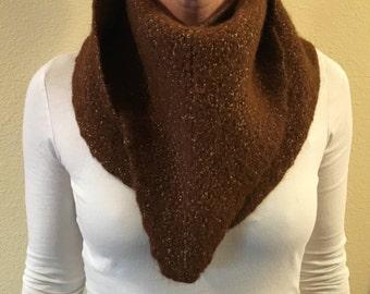 Hemp Knit Bandana Scarf #1