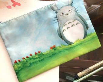 Totoro Zipper Pouch