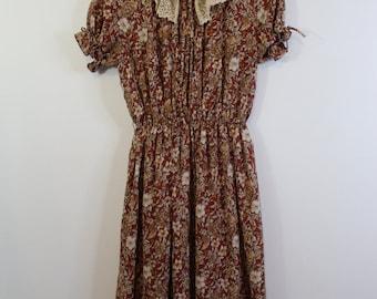 Vintage Prairie Style Dress