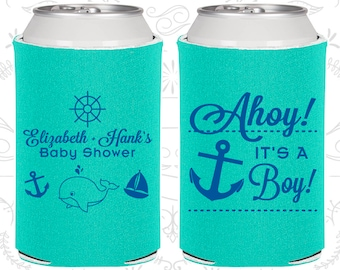 Ahoy It's a Boy, Custom Baby Shower Party, Nautical Baby Shower, Anchor Baby Shower, Shower Party Ideas (90093)