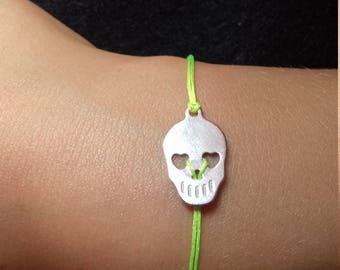 Bracelet friendship skull kids