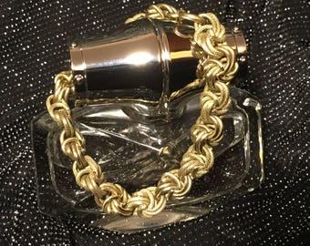 Genuine Vintage Bracelet Of Wire Twisted Knots