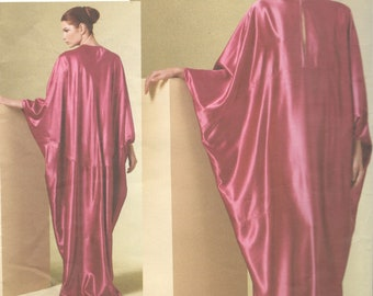 Vogue 1181 Misses Dolman Sleeve CAFTAN Pattern Loose Fitting Pullover  Womens Sewing Pattern Size LG Xl Bust 38 - 44  UNCUT