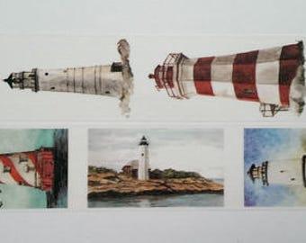 Design Washi tape Lighthouse sea holiday