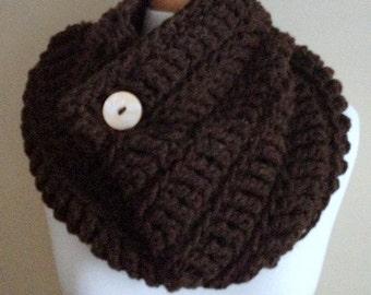 Chunky Oversized Crochet Cowl