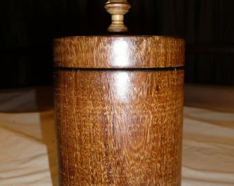 (2) Brazilian ipe wood box