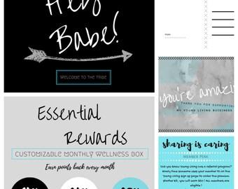 Printable Small Business Bundle, Digital Download