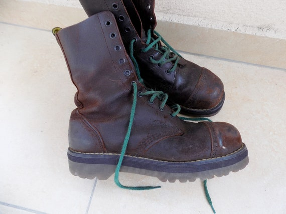 in Dr Martens Rustic RARE Dr Martens 90's Combat in ENGLAND Martens England Boots Made Vintage Made Boots Boots Vintage Martens Dr Vintage Svvqwz65nx