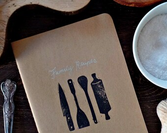 Welcome to the family Blank recipe book, Cookbook, Family recipe book, Bridal shower gift Personalized recipe book, Recipe journal Cook book