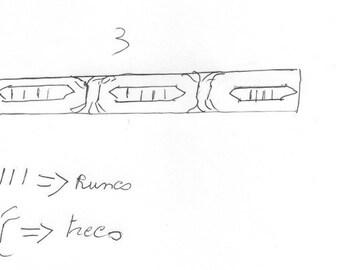 Custom ring for Cédric. Futhark.Viking runes.Rune ring.Elder futhark.Asatru.Nordic.Runes and meanings.Rune ring.Vikings.Rune jewelry.