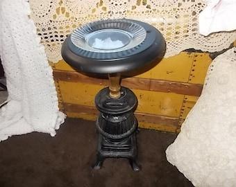 Ashe Tray, Pot Belly Stove Ash Tray, Standing Ash Tray, Coal Man Stove
