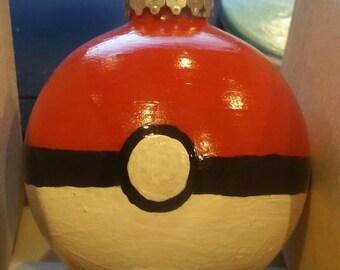 Pokeball inspired ornament