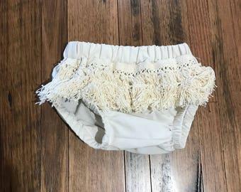 Ruffled lace boho gypsy bloomers
