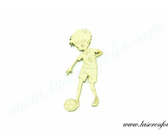 Football player 2, made in medium, size 5cm