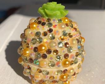 Pineapple Inspired Bling EOS Lip Balm