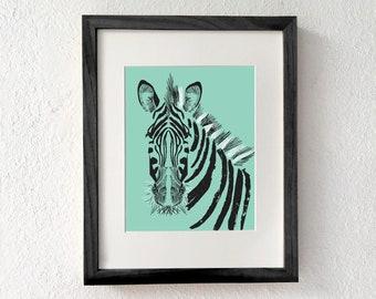 Zebra, Zebra print, Zebra art, Zebra gifts, Zebra decor, Zebra wall art, Zebra art print, Zebra print decor, Zebra room decor, Wildlife art