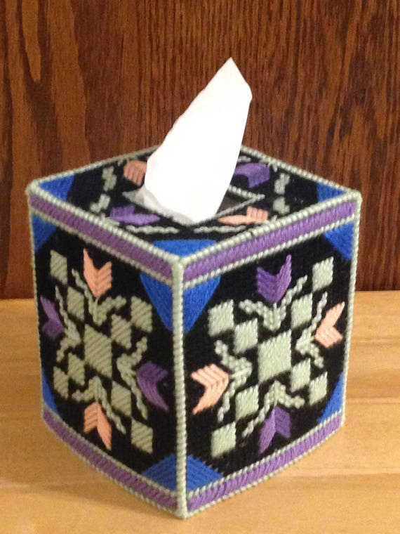 Tissue box cover garden path garden decor easter gifts like this item negle Choice Image