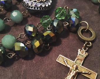 Green Goddess Rosary