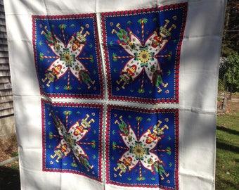 Cute Vintage Folk Art Scandinavian ? Tablecloth