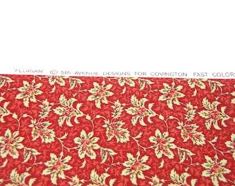 Florian Fabric - One Yard - Multi Purpose Home Decor Cotton Fabric