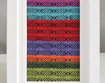 Framed Textile No. 3