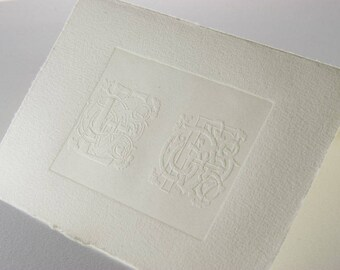 clichè for embossing paper