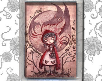 Little Red Riding Hood - Magnet
